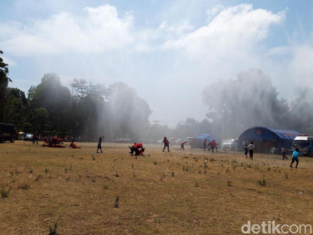 Waspada Merapi, Warga 5 Desa KRB II di Boyolali Gladi Evakuasi