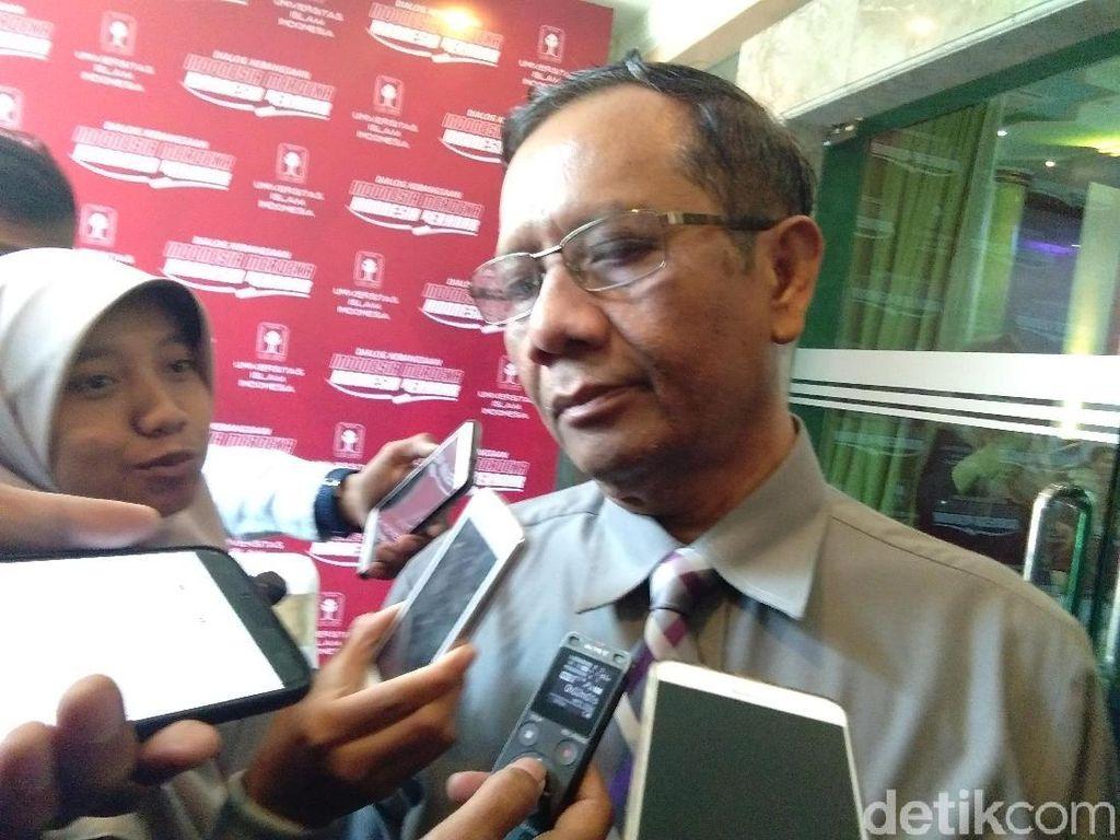 Mahfud MD: Roy Suryo Bisa Dipidana Penggelapan atau Pencurian