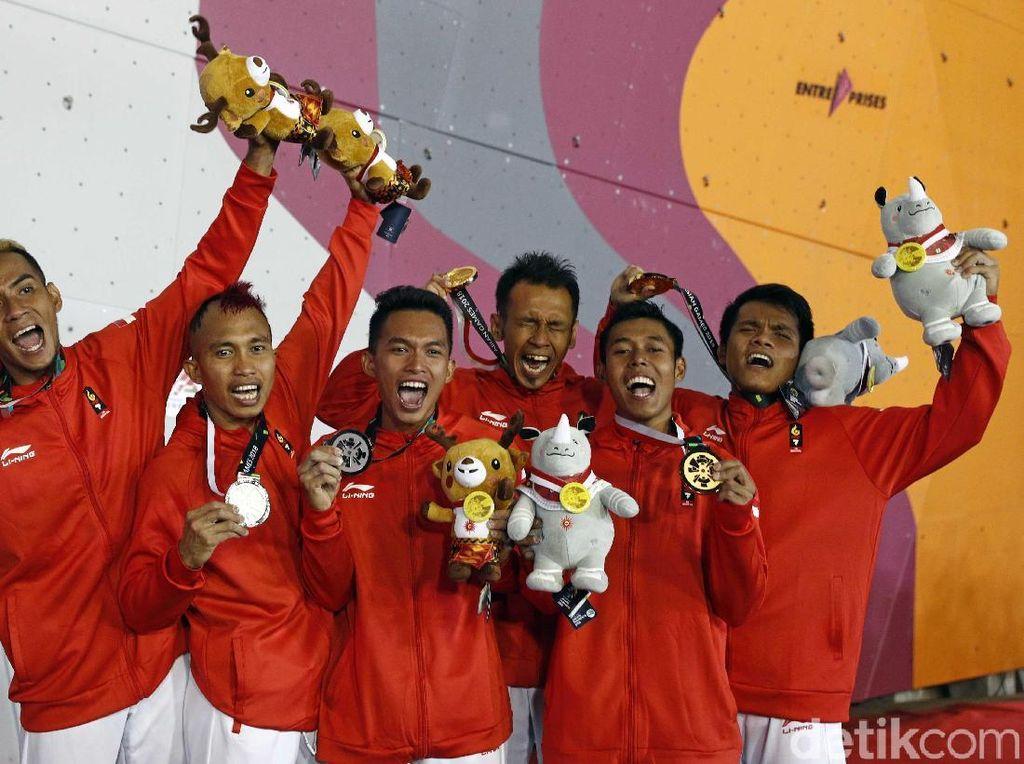 Lewat Emas Asian Games, Hinayah Ganti Rumah Gubuk Orang Tua Jadi Permanen