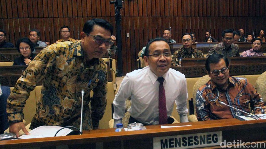 Komisi II Bahas Anggaran Sejumlah Kementerian