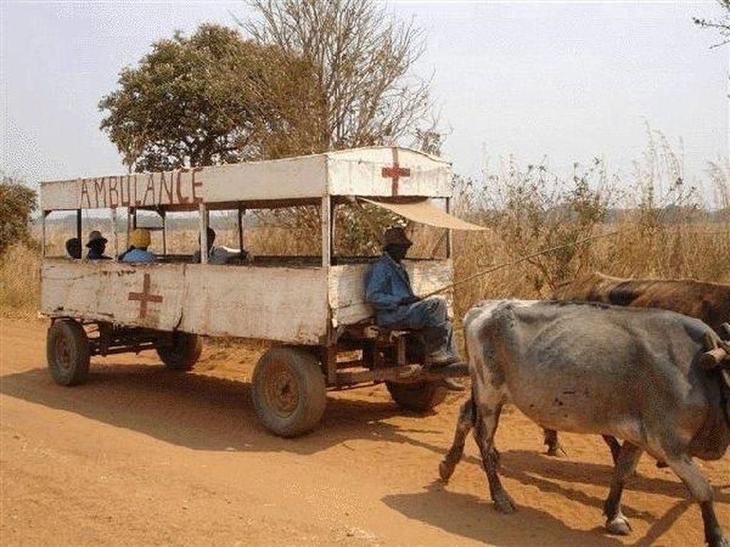 Apa Reaksi Kamu Kalau Dijemput Deretan Ambulans Unik Ini?