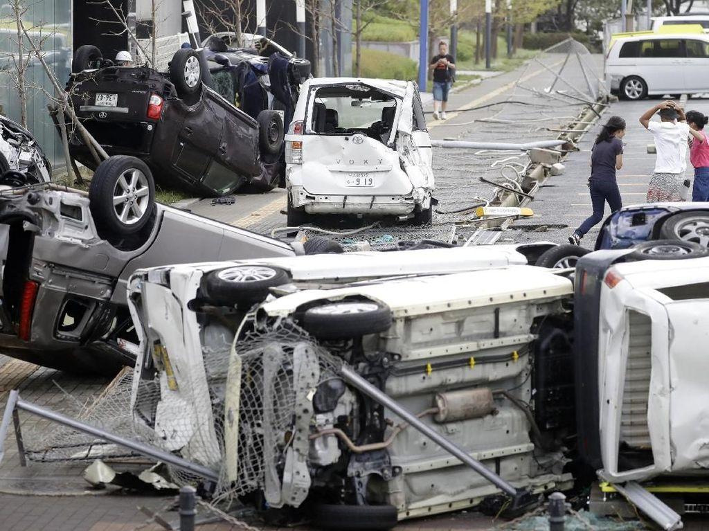 Dampak Kerusakan Topan Jebi di Jepang, 6 Orang Tewas Ratusan Terluka