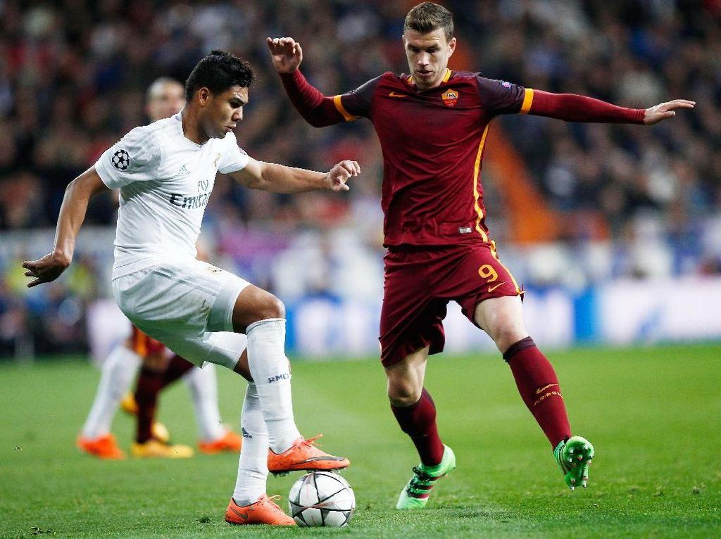 Roma Pede Akan Kalahkan Real Madrid