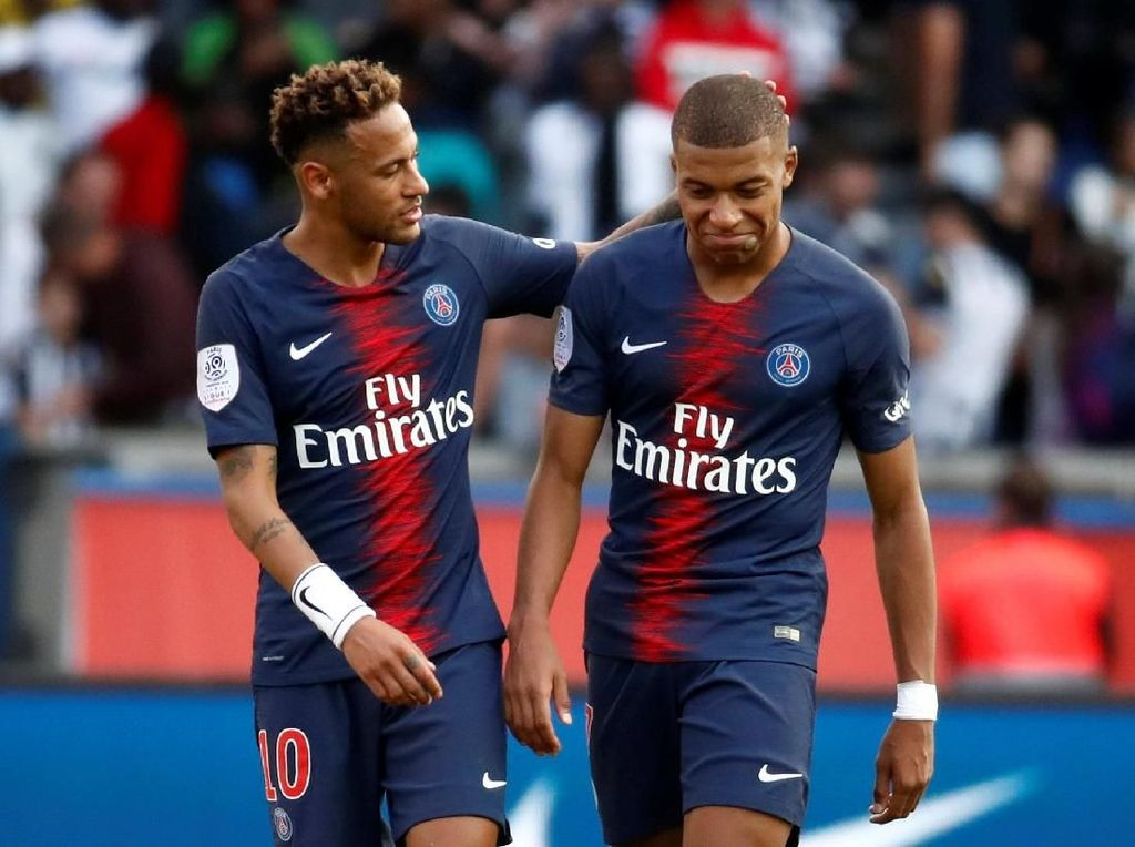 Neymar: Mbappe, Disiplin Sedikit Dong