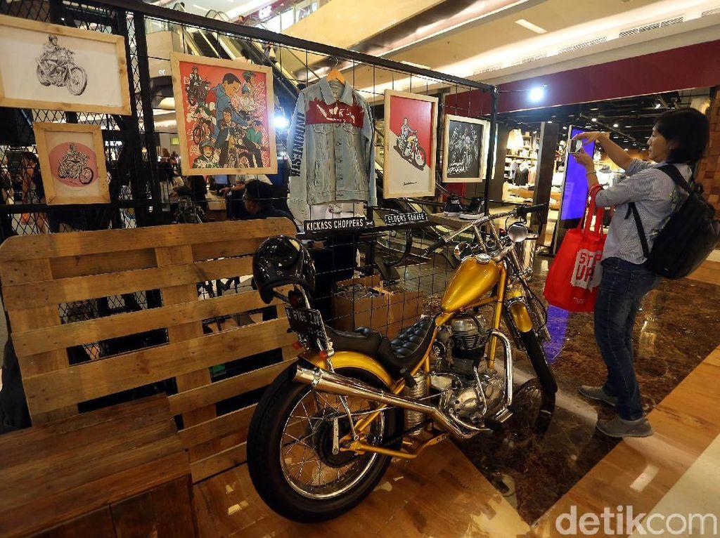 Berkat Jokowi, Motor Modifikasi Makin Populer