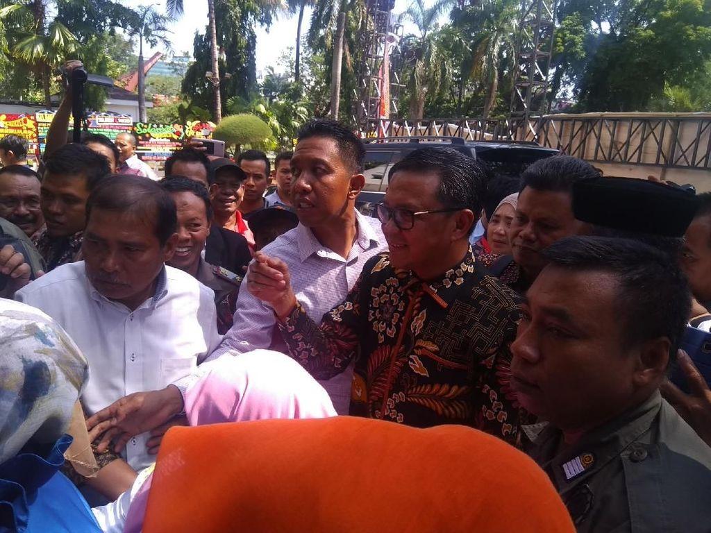 Gubernur Nurdin Siap Hadapi Pekerjaan Besar di Sulsel