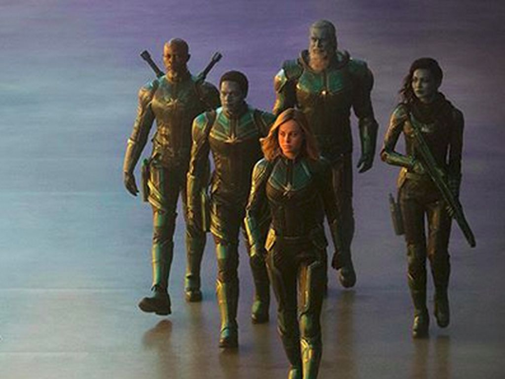 Raup Rp 12 Triliun Lebih, Captain Marvel Masuk Daftar Film Komik Terlaris