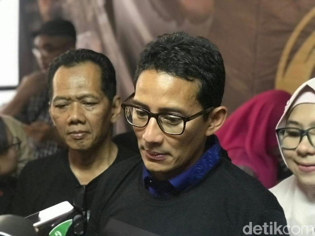 Didukung Relawan Gatot, Sandiaga: Ini Luar Biasa