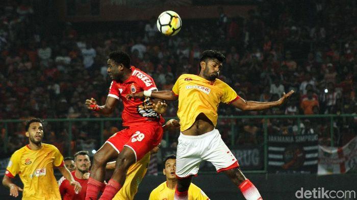Persija kalah 1-2 dari Selangor FA di laga uji coba. (Foto: Rifkianto Nugroho)