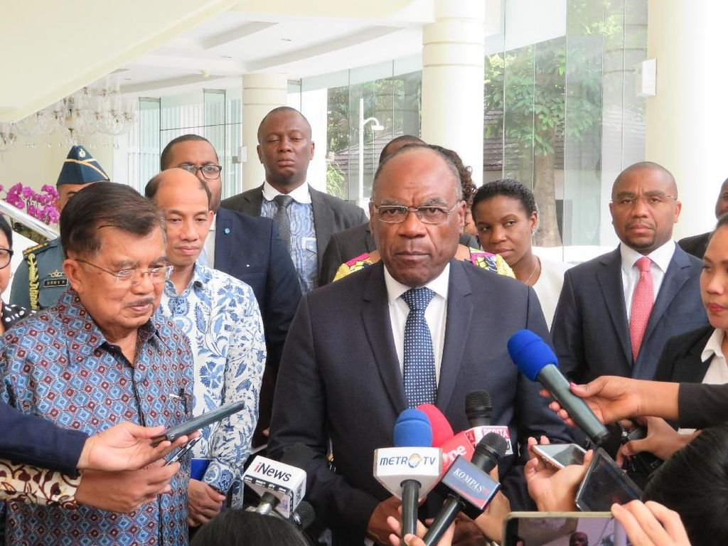 Temui JK, Wakil PM Kongo Jalin Kerja Sama Infrastruktur-Tekstil