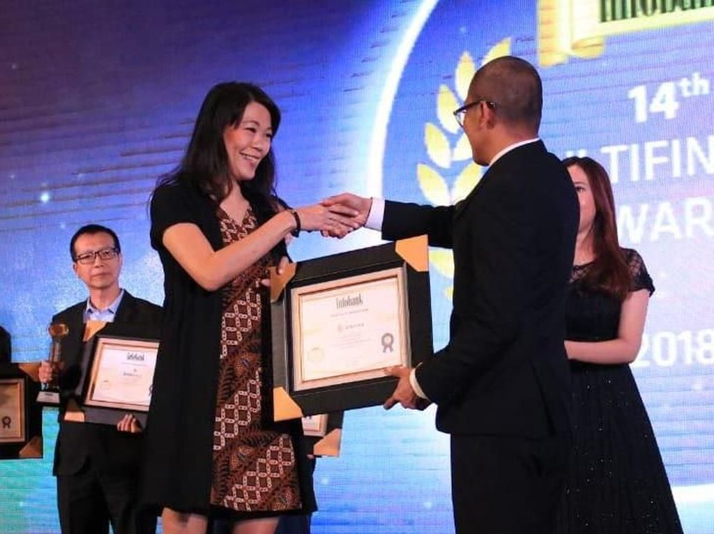Penghargaan Kinerja Keuangan Terbaik