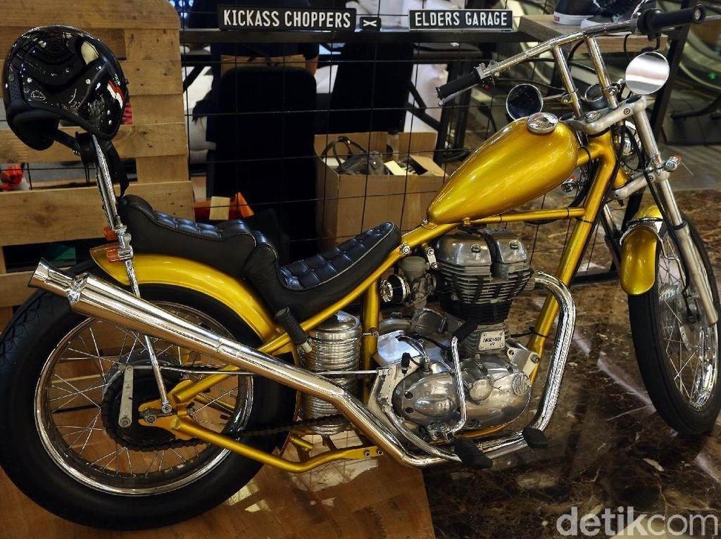 Replika Motor Chopper Jokowi Cuma Dibuat 8 Unit