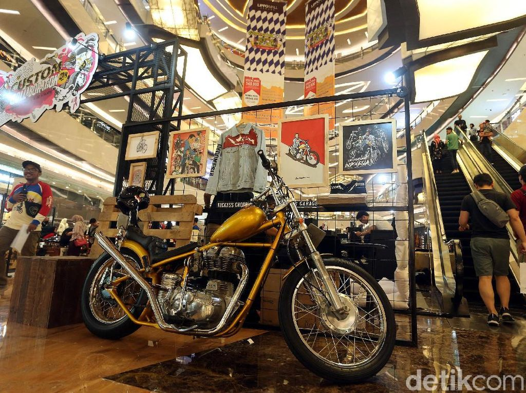Motor Replika Chopper Jokowi Dijual Seharga Rp 200 Juta!