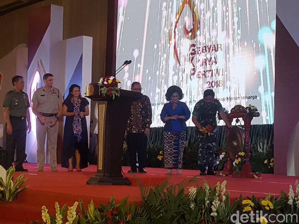 Buka Gebyar Karya Pertiwi, Panglima TNI Bicara Keberagaman Bangsa