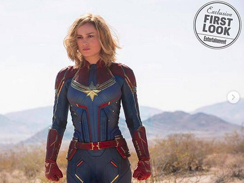 Sepak Terjang Brie Larson, Sang Captain Marvel