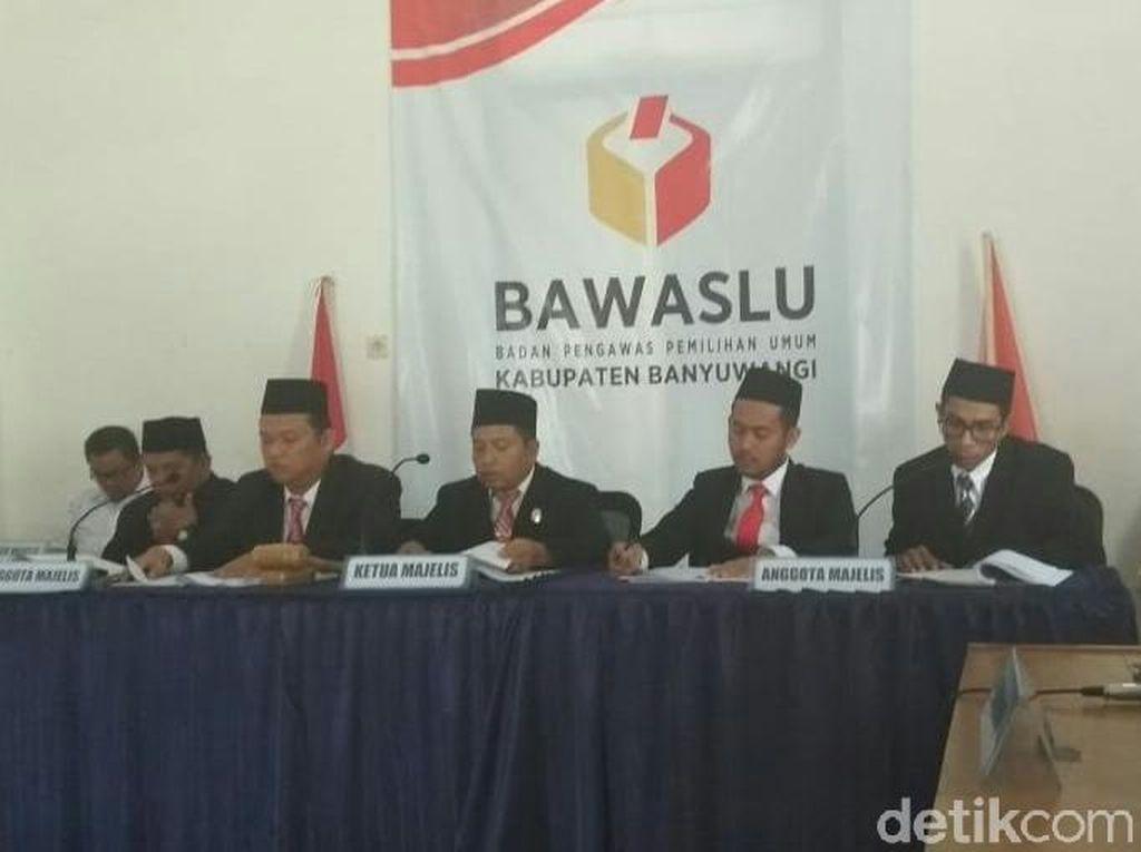 Bawaslu Banyuwangi Kabulkan Gugatan PPP Banyuwangi dan 9 Bacaleg