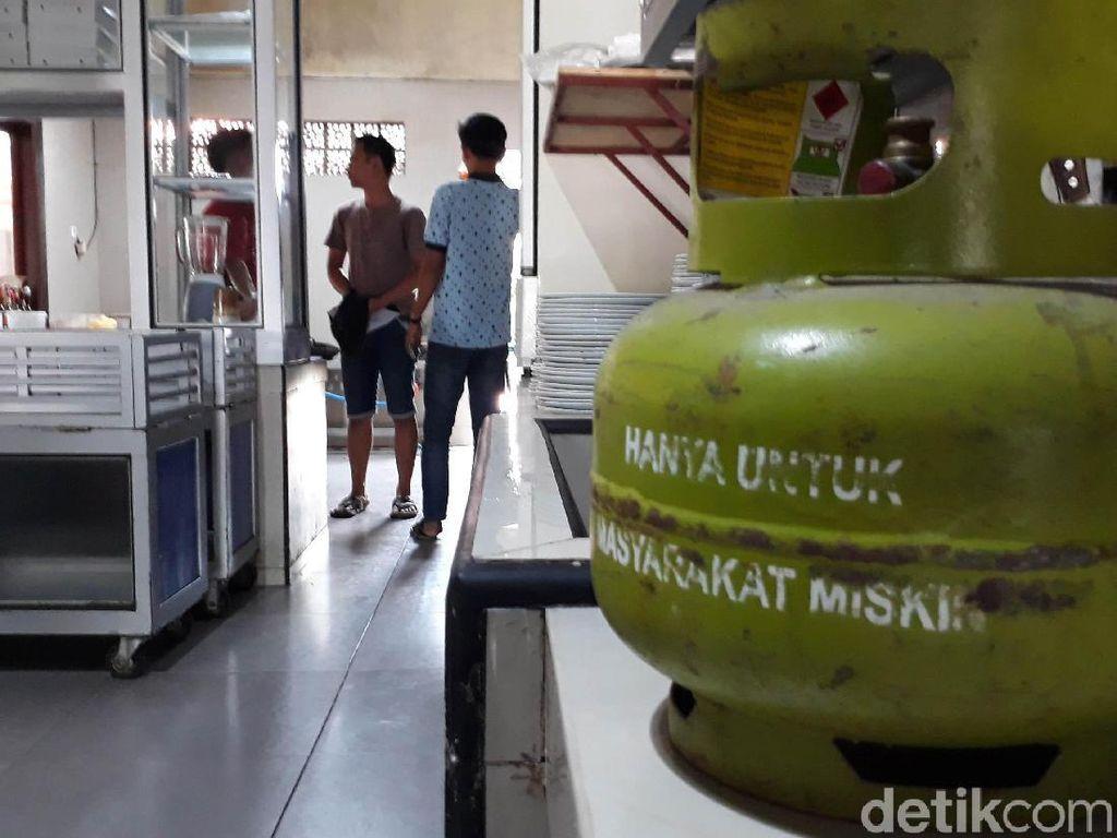 Duh, Elpiji 3 Kg untuk Orang Miskin Dipakai Restoran