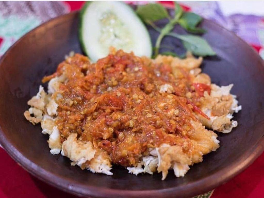 GrabFood: Ayam Geprek Menu Terfavorit Orang Indonesia