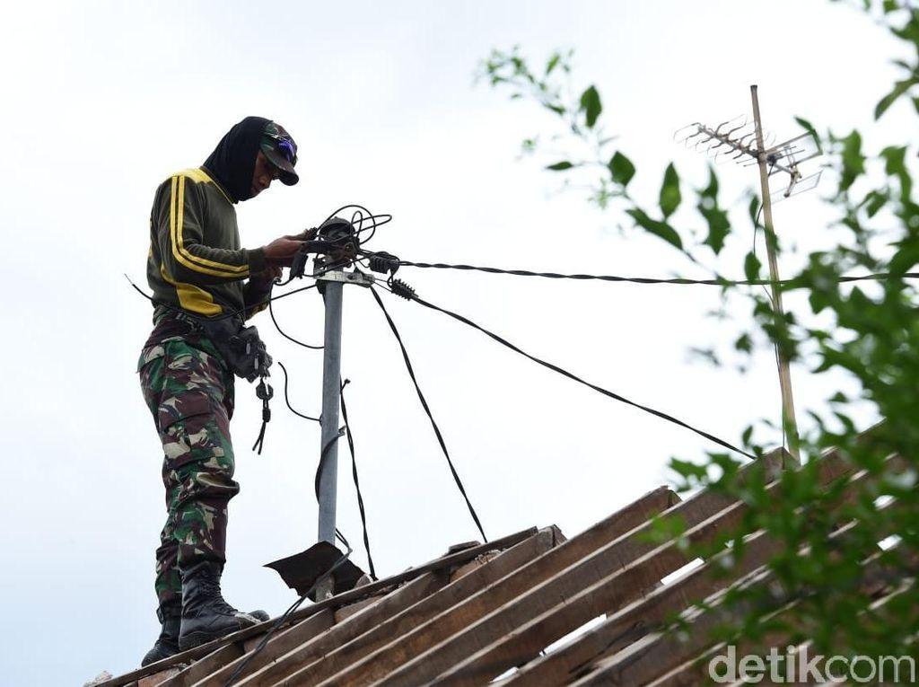 Rumah Warga Lombok Roboh Pasca Gempa, Bagaimana Tagihan Listriknya?