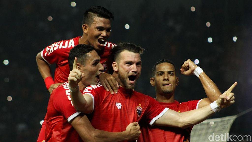 Persija Setuju Liga 1 Dihentikan