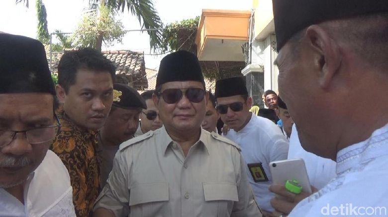 Prabowo Mengaku Tak Tahu Soal 2019PrabowoPresi Den