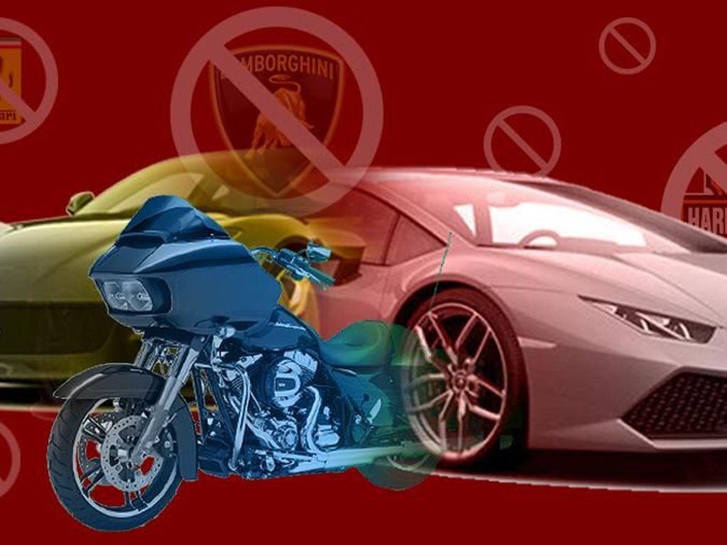 Pajak Impor Mobil Mewah Naik, Ini Kata Importir