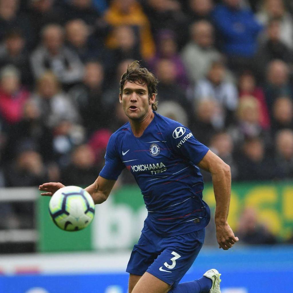 Marcos Alonso Segera Teken Kontrak Baru dengan Chelsea