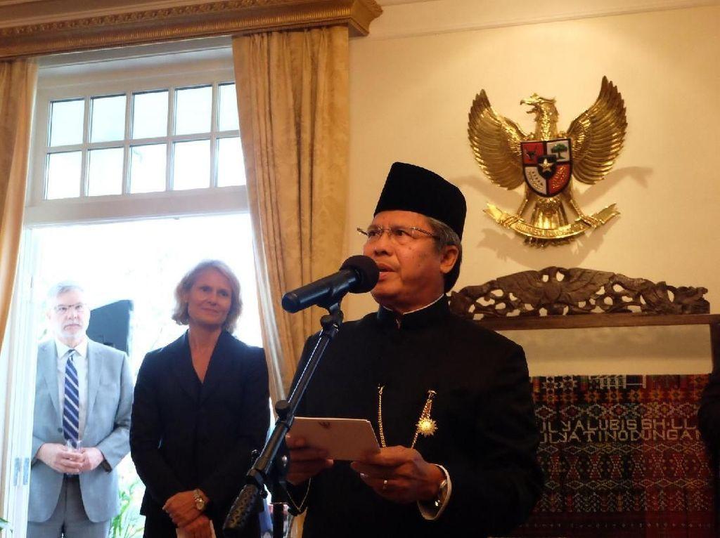 Resepsi Diplomatik, KBRI Oslo Ajak Tingkatkan Kerja Sama RI-Norwegia