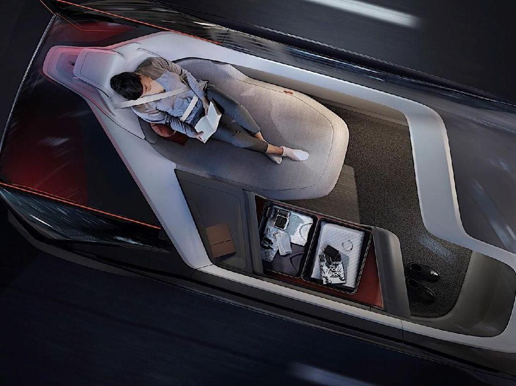 Mobil Ini Ada Tempat Tidurnya
