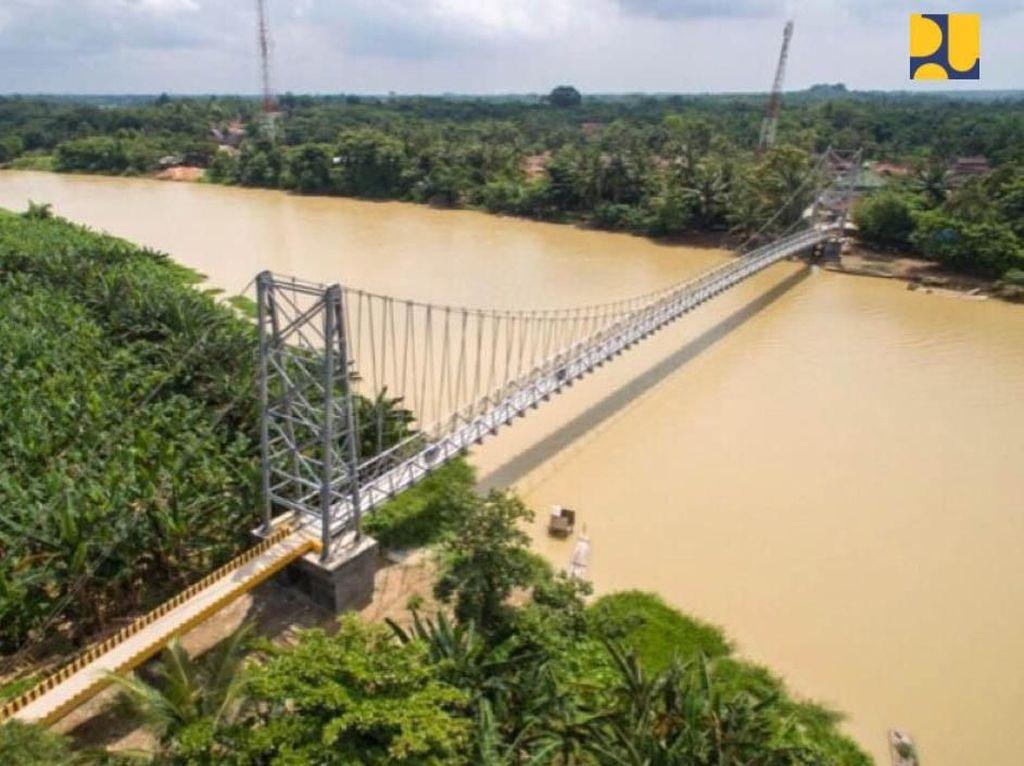 RI bakal Punya 134 Jembatan Gantung, Tersebar di 20 Provinsi