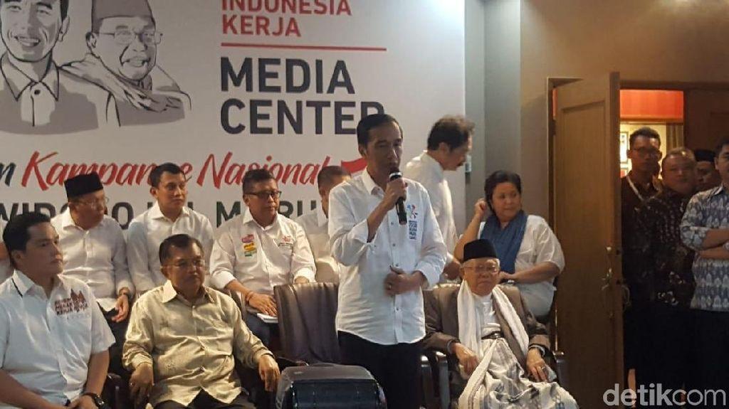 Erick Thohir Ketua Timses, Jokowi: Yang Dia Pimpin Selalu Sukses