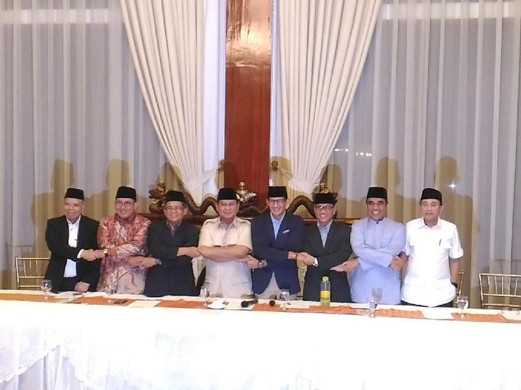 SBY Tak Hadir Rapat Koalisi, Prabowo: Tidak Masalah