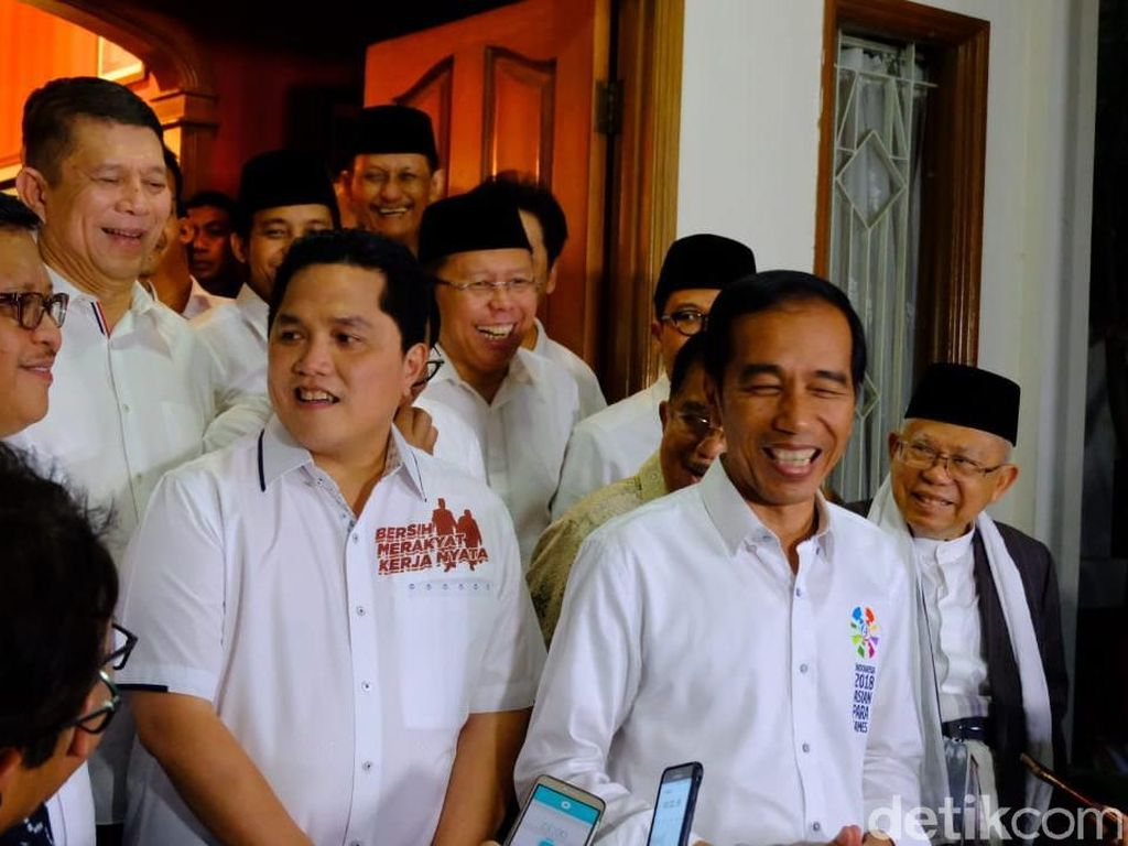 Erick Thohir Sanjung Pidato Game of Thrones Jokowi di IMF-WB
