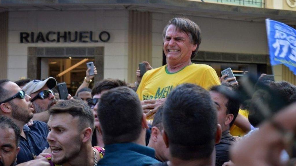 Calon Presiden Brasil Ditusuk Saat Kampanye