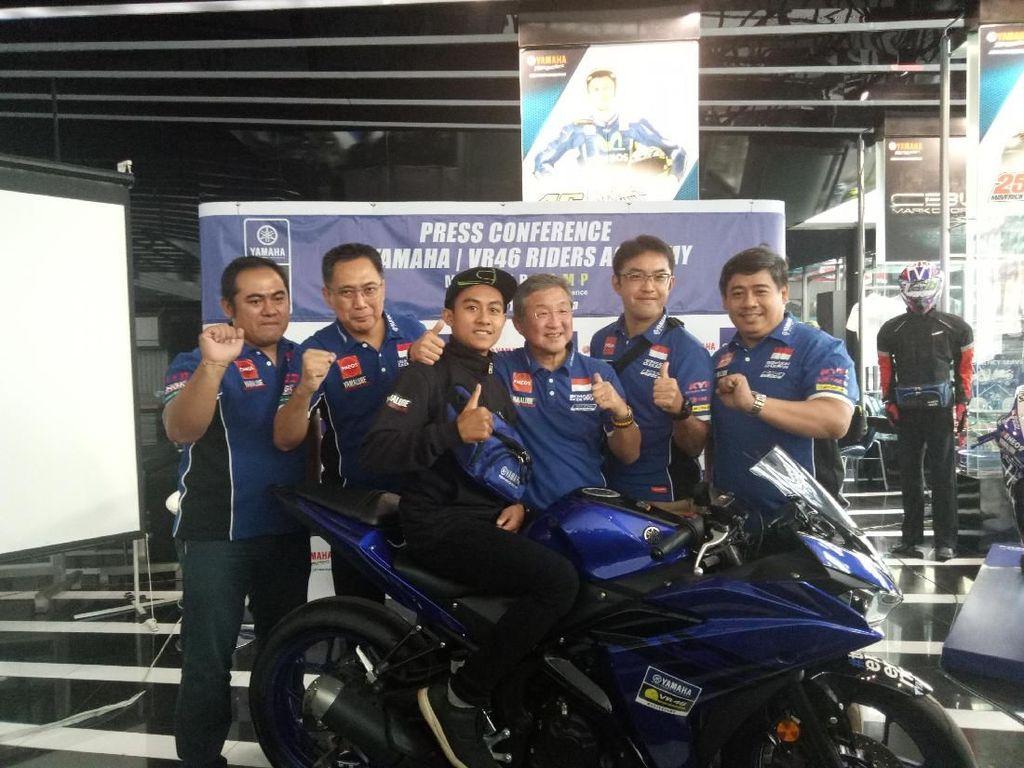 Yamaha Indonesia Kirim Muhammad Faerozi ke VR46 Master Camp