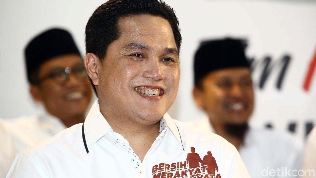 Erick Thohir Ketua Timses Jokowi, PSI: Leadership-nya Teruji