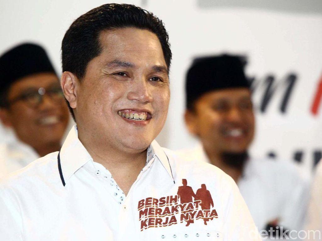 Jadi Ketua Timses Jokowi-Maruf, Ini Bisnis Erick Thohir
