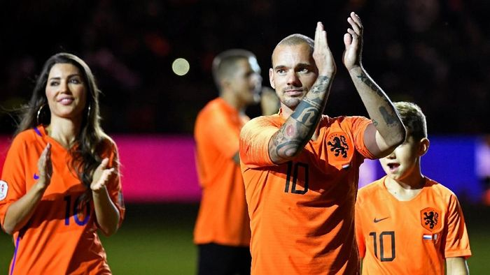 Wesley Sneijder pensiun atau tidak? (Piroschka van de Wouw/Reuters)