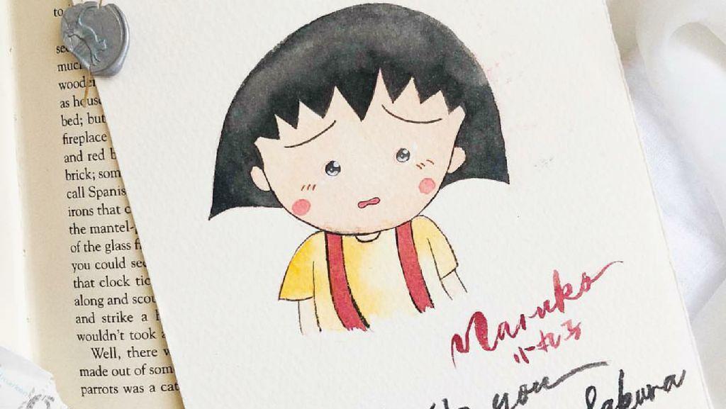 Lucunya Kartun Anak Chibi Maruko-chan Buatan Fans Momoko Sakura