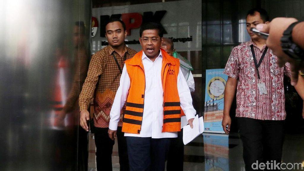 Pemeriksaan Perdana Idrus Marham Usai Ditahan KPK
