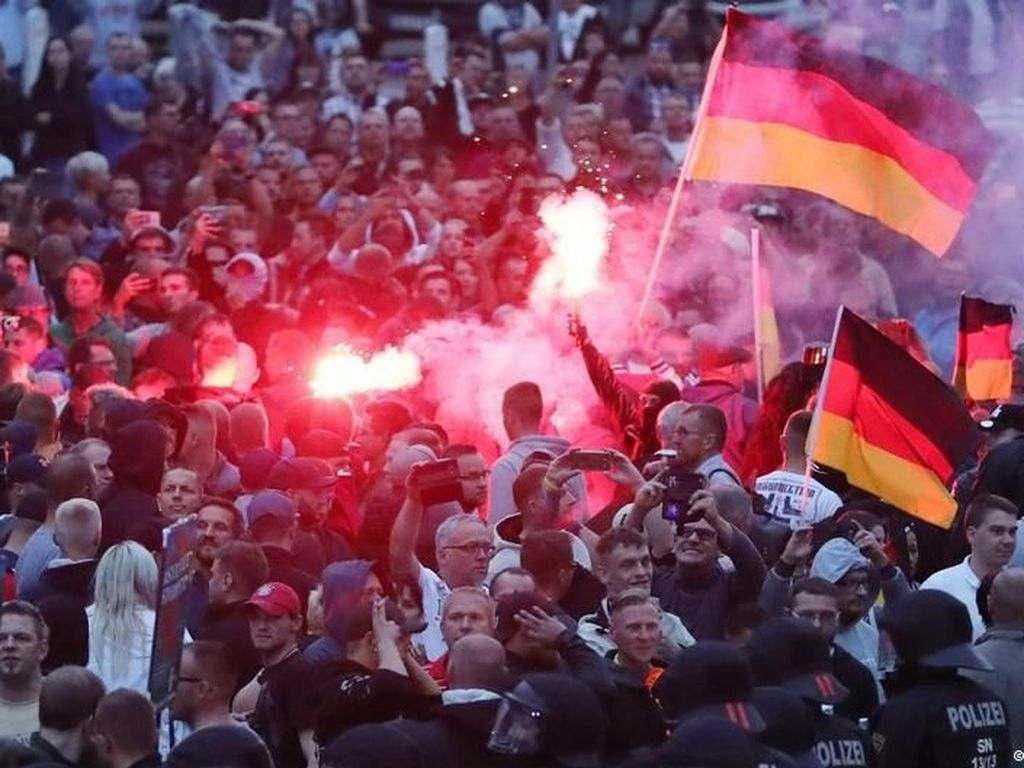 Badan Intelijen Jerman: Tak Ada Penargetan Warga Asing di Chemnitz
