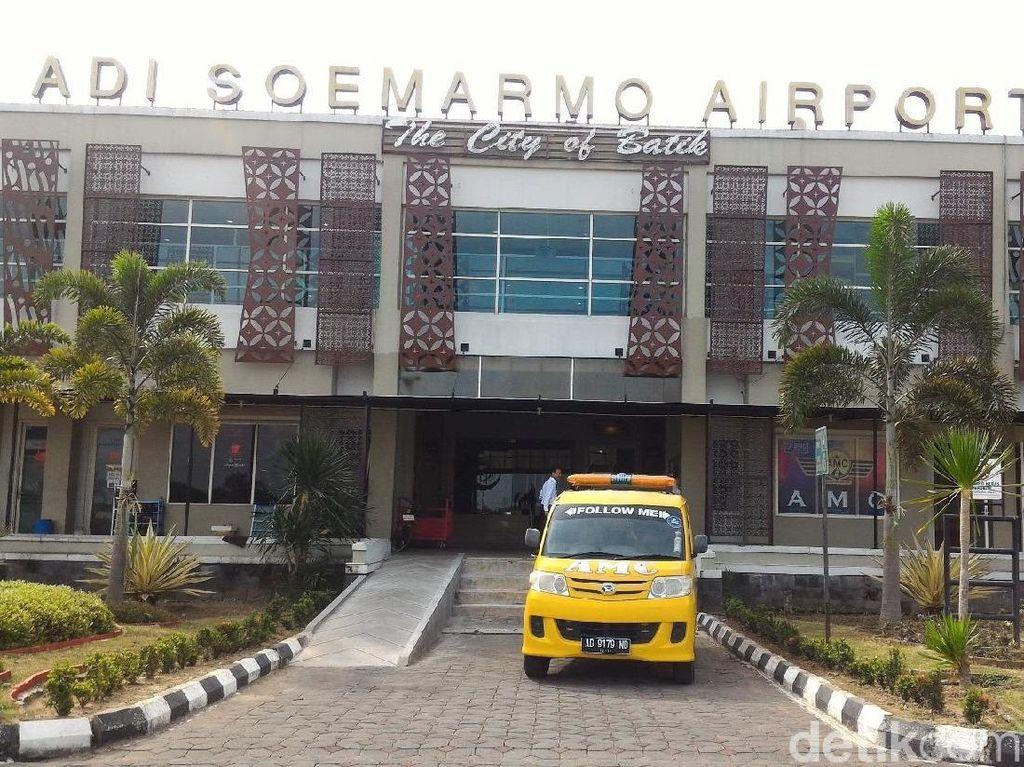 Terminal Baru Bandara Adi Soemarmo Dibangun, Ini Progresnya