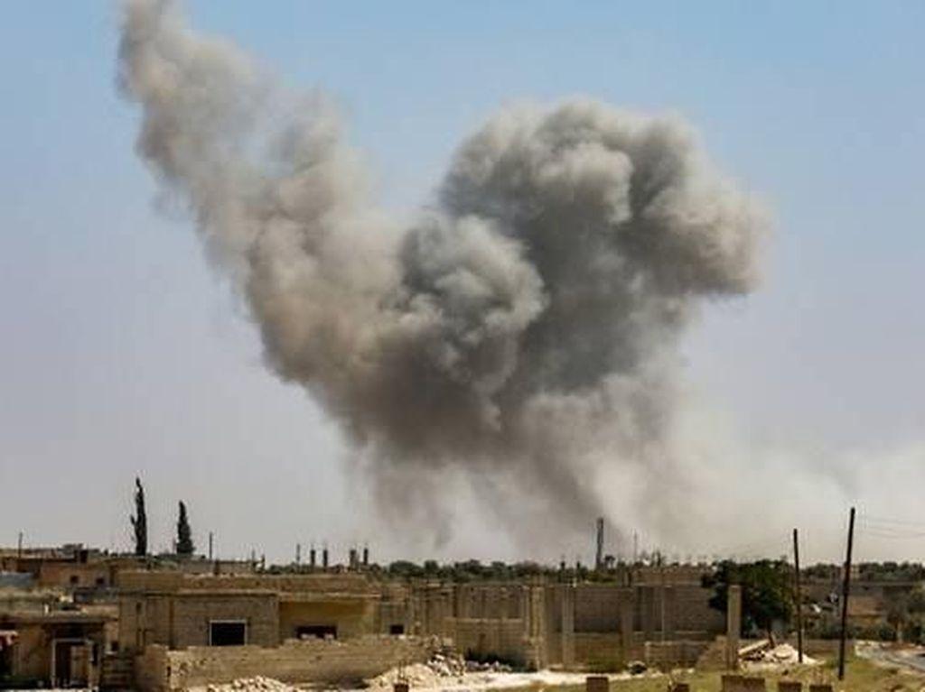AS Serang Pemimpin Al Qaeda di Suriah, 40 Orang Tewas