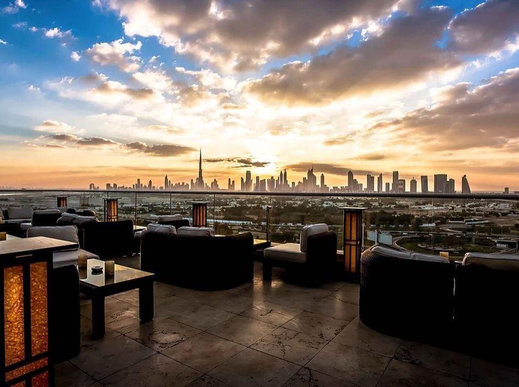 6 Rooftop Keren Buat Nongkrong Asyik di Dubai