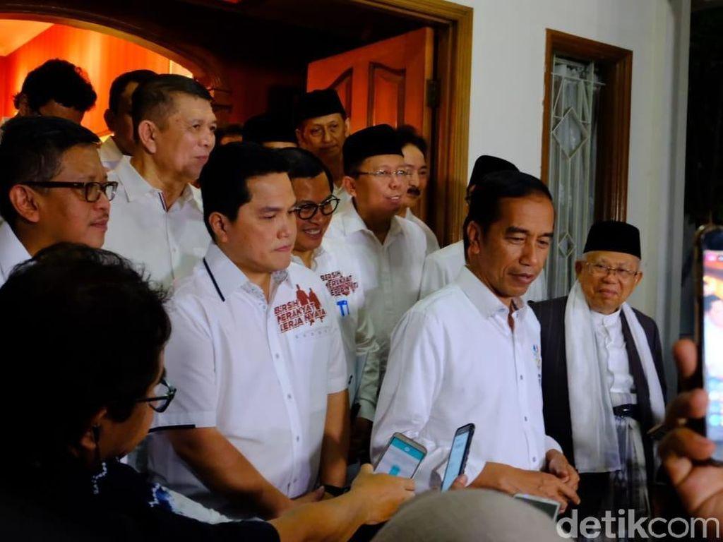 Jokowi-Maruf Dijadwalkan Ikut Rapat dengan Timses