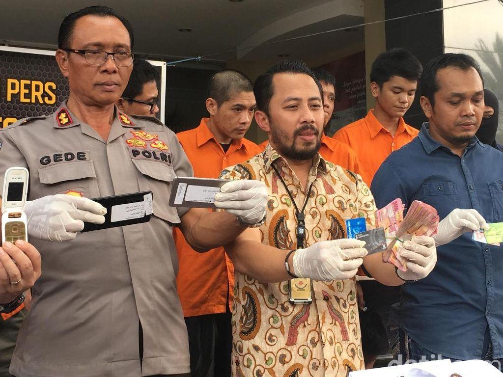 Penipu Nasabah Kartu Kredit Rp 100 Jutaan Dibekuk Polisi