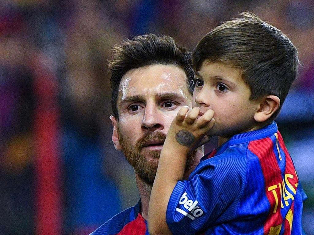 Enam Pemain Idola Anaknya Lionel Messi, Ada Cristiano Ronaldo