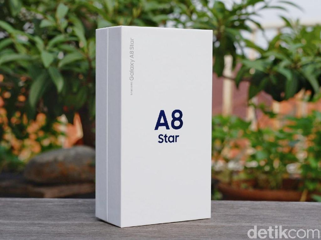 Unboxing Galaxy A8 Star, Ponsel Dua Kamera Harga Rp 7 Jutaan