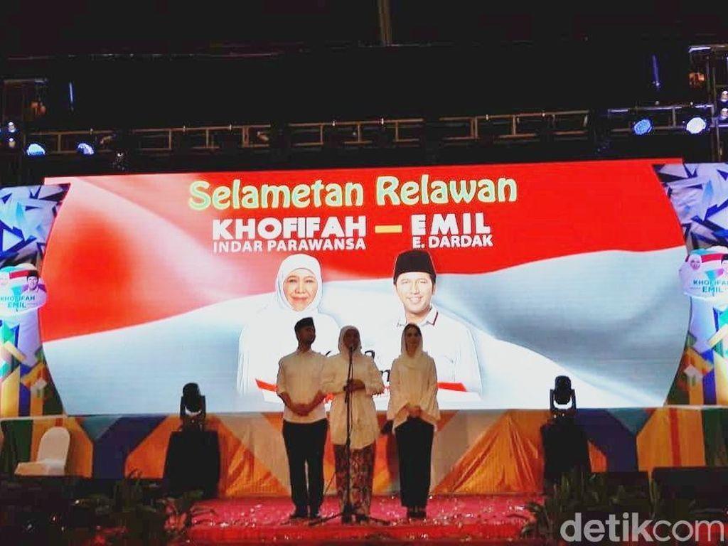 Khofifah Pastikan Dukung Jokowi, Bagaimana dengan Muslimat?