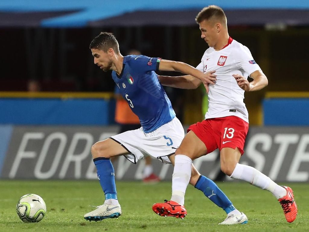 Hasil UEFA Nations League: Italia Ditahan Imbang Polandia